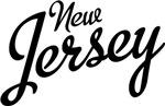 New Jersey Script Black