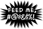 Feed Me! (pop art design)