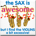Sax and Violins