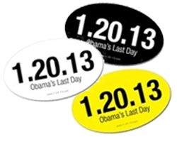 Obama's Last Day Stickers