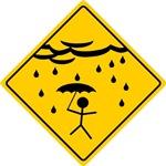 Rain Warning Men's Apparel