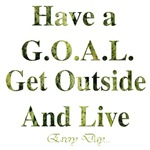 GOAL - Get Outside And Live