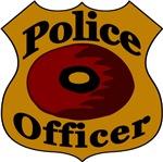 Police Doughnut Badge
