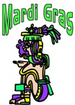 Mardi Gras Aztec