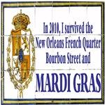 MArdi Gras Survivor Tile Mural
