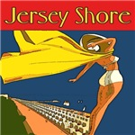 Vintage Style Jersey Shore Posters