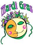 Mardi Gras Sun Moon