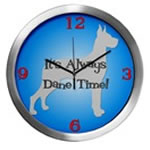 GREAT DANE TIME Wall Clocks