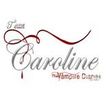 Team Caroline The Vampire Diaries Raven Ribbon