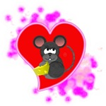 3D Mousey Valentine