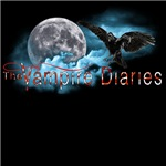 The Vampire Diaries Raven Moon Blue Clouds