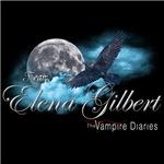 Team Elena Gilbert The Vampire Diaries Raven Moon