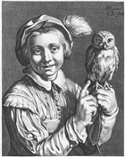Bloemaert's Youth with owl