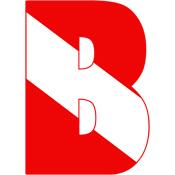 Scuba Flag Letter B