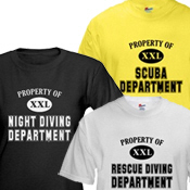 Property of Diving Dept