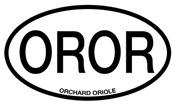 OROR Orchard Oriole Alpha Code