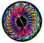 Sumi-e Rainbow Mandala