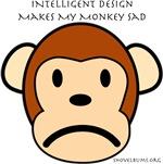 Intelligent design makes my monkey sad