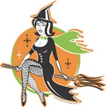 Pinup Girls - Witch