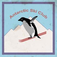 Antarctic Ski Club - grunge