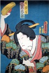 Ukiyoe Angry Woman