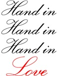 hand in hand in hand in love