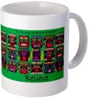 Mod Tiki Series Inspirational Hawaiian Coffee Mugs