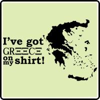 I've Got Greece On My Shirt!