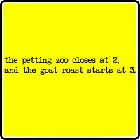 Goat Roast At 3