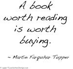 Tupper On Books I