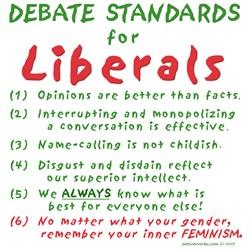 Debating Liberals