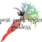 post-punk vegan goddess