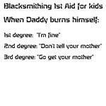 Blacksmithing 1st Aid for kids