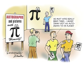 Pi Autograph