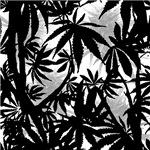 Camomoto Marijuana Fabric #5