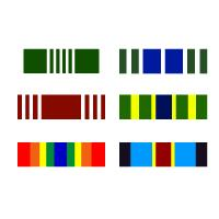 Army Ribbon Bumper Stickers