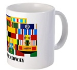 Navy Ship Award Mugs/Steins