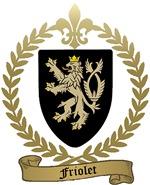 FRIOLET Family Crest
