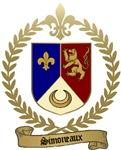 SIMONEAUX Family Crest