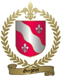 GREGOIRE Family Crest