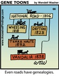 #66 Roads genealogy