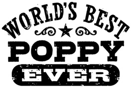 World's Best Poppy Ever t-shirts