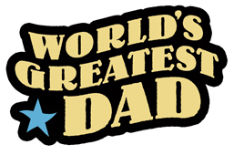Worlds Greatest Dad t-shirts