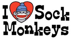 I Love Sock Monkeys t-shirts