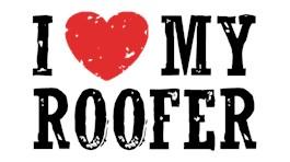 I Love My Roofer t-shirt