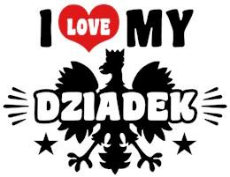 I Love My Dziadek t-shirt