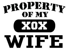 Property of my Wife t-shirt