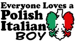 Polish Italian Boy t-shirts