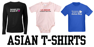 Asian t-shirts and gifts