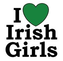 I Love Irish Girls t-shirt